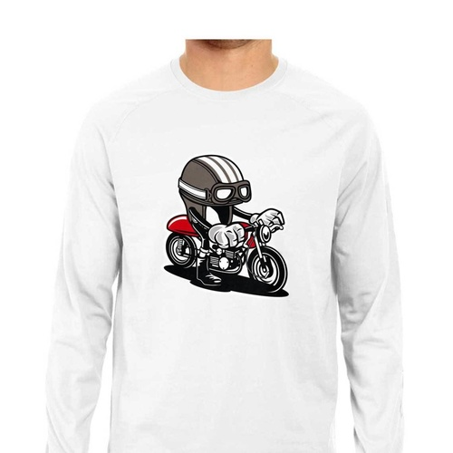 Bike Graffiti Full Sleeves Tshirt