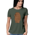 Grizzly Bear Round Neck Top