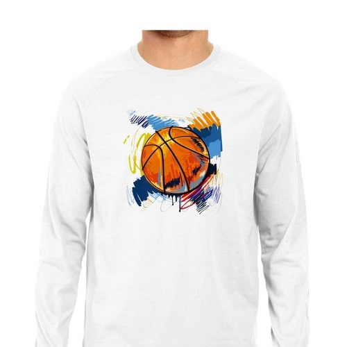 Basketball Full Sleeves Tshirt