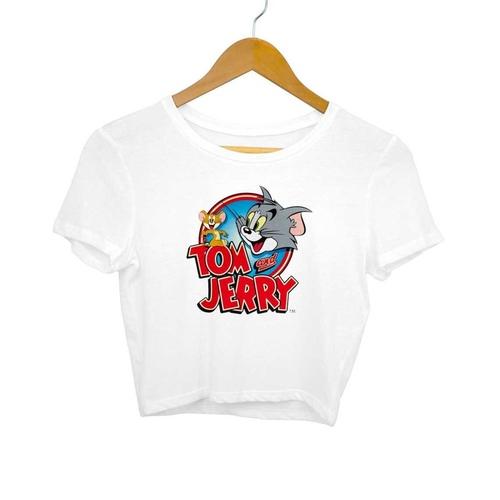 Tom & Jerry Crop Top