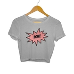 Pow Crop Top