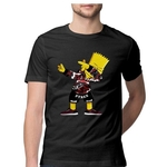 Dabbing Simpsons Round Neck Tshirt