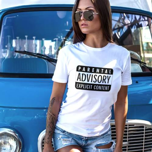 Explicit Content Round Neck Tshirt