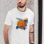 Mens Basketball Print Tshirt
