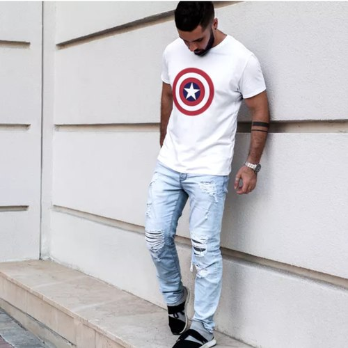Mens Captain America T-shirt