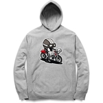 Bike Ride Graffiti Hoodie