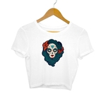 Day Of The Dead Crop Top