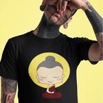 Buddha Round Neck Tshirt