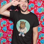 The Bear Round Neck Tshirt