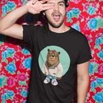 The Bear Round Neck Tshirt