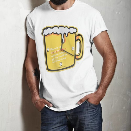 The beer Mug Round Neck tshirt