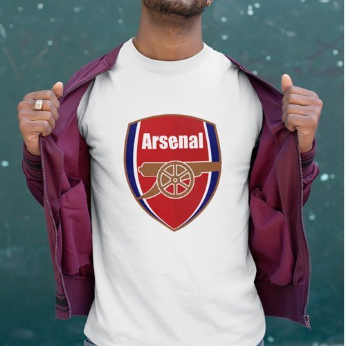 Arsenal FC Round Neck Tshirt