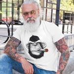 Mens Printed Round Neck Tshirt