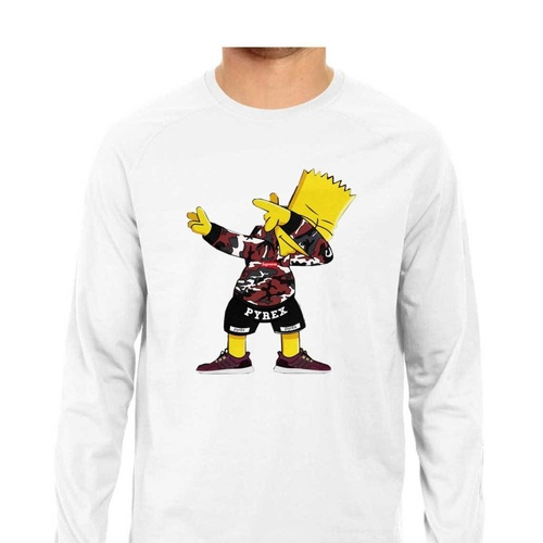 Dabbing Simpsons Full Sleeves Tshirt