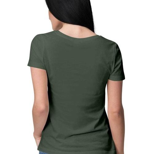 Women Gemini Sign Printed Tshirt