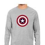 Captain America Full Sleeves Tshirt