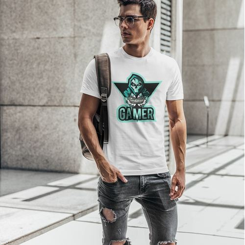 Gamer Round Neck Tshirt