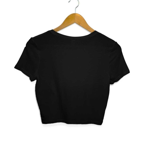Retro Camera Crop Top