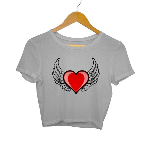 Angel Heart Crop Top