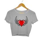 Angel Heart Crop Top