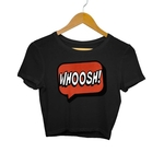 Superhero Comic Bubble Crop Top
