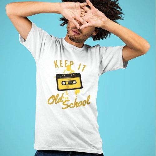Old School Round Neck Tshirt