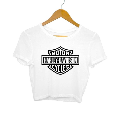 Harley Davidson Crop Top