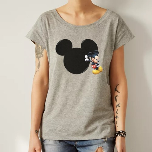 Mickey Mouse Round Neck Top