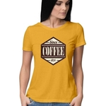 Since Coffee Round Neck Top