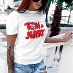 Tom & Jerry Round Neck Top