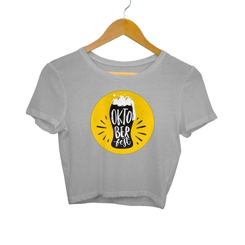 Beerfest Crop Top