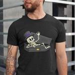 Skull Round Neck Tshirt