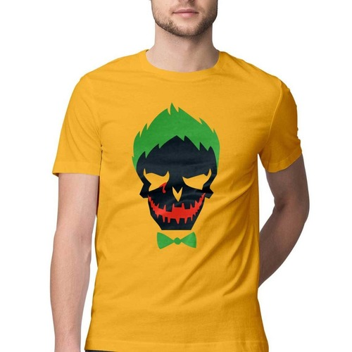 Mens Joker Round Neck Tshirt
