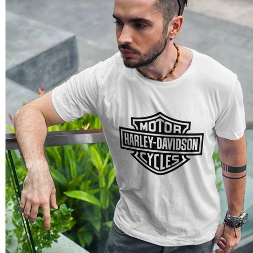 Mens Harley Davidson Round neck T-shirt