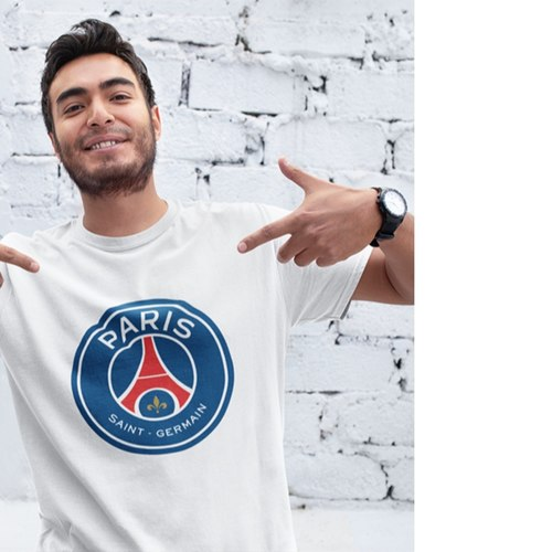 Paris Saint Germain Round Neck Tshirt
