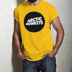 Arctic Monkeys Round Neck Tshirt