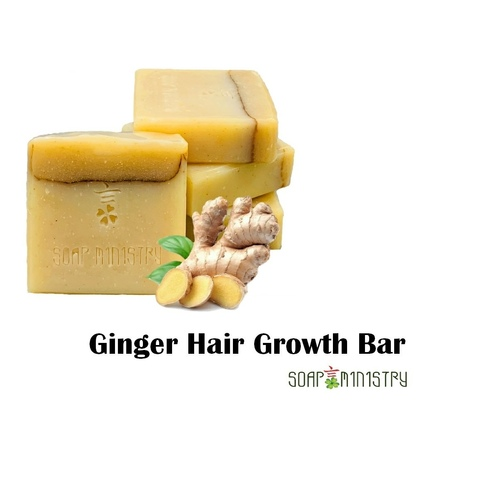 Ginger Hair Growth Soap