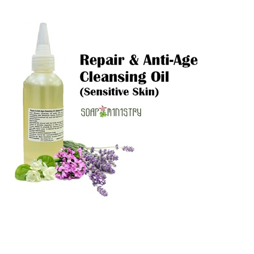 Repair and Anti-Age Cleansing Oil - Sensitive 100ml
