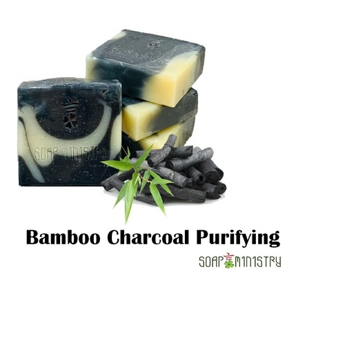 Bamboo Charcoal Purifying Soap