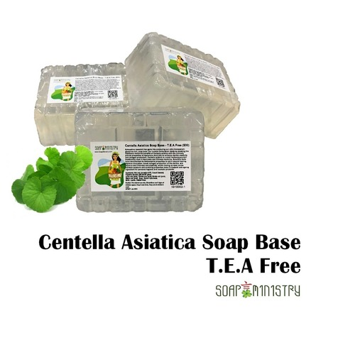 Premium Centella Asiatica  Soap Base