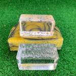 Christmas Stars Acrylic Soap Stamp