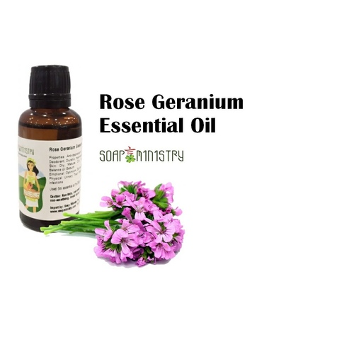 Rose Geranium Essential Oil 30ml