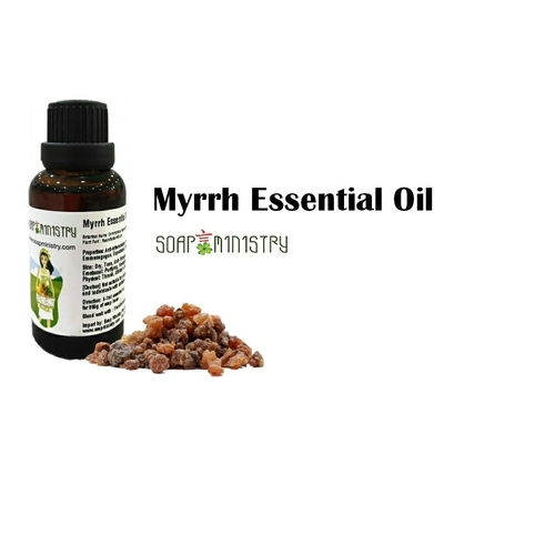 Myrrh Essential Oil 500ml