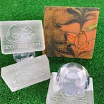 Chick with mail Handmade Soap Acrylic Soap Stamp
