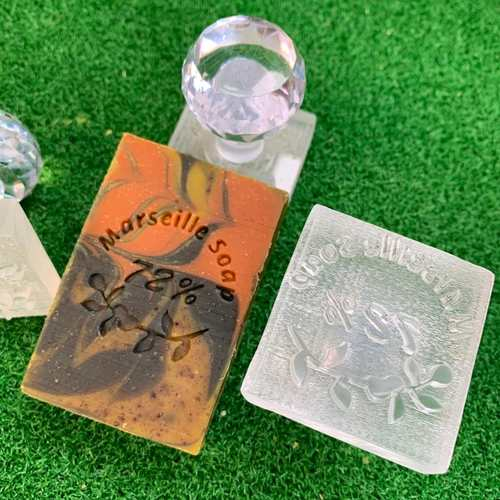 Marseille Soap 72 Acrylic Soap Stamp