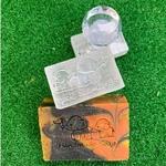 Elephants Handmade Soap Acrylic Soap Stamp