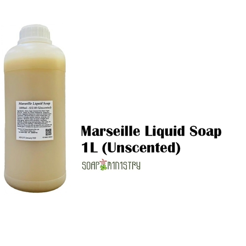 Marseille Liquid Soap (Unscented) 1L
