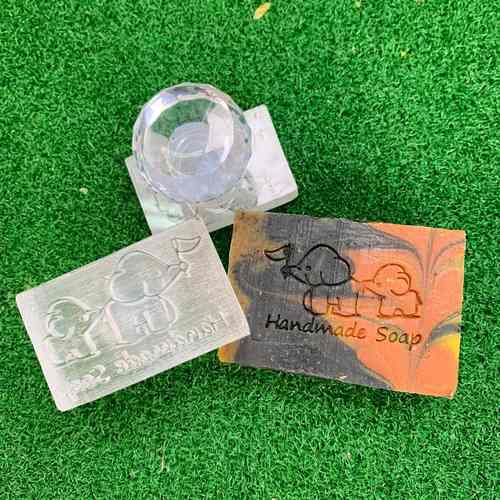 Elephants Handmade Soap Acrylic Soap Stamp