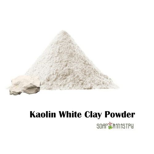 Kaolin white clay Powder 500g