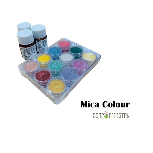 Mica Colour Set 12g